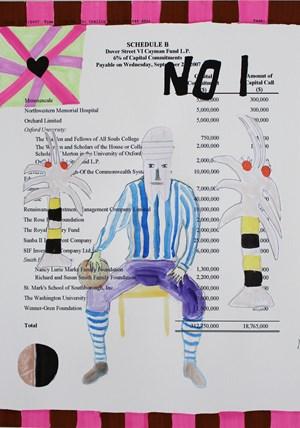 No. 1 Paradise Man by Carla Busuttil contemporary artwork