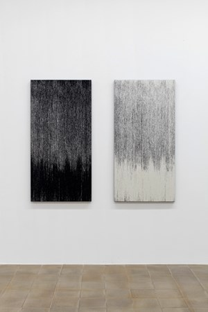 Binary Tapestry (and Reversal) by Susan Morris contemporary artwork