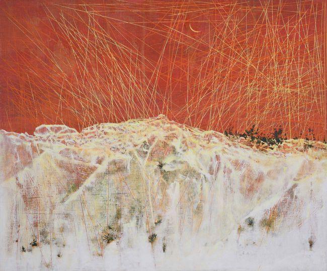 Redness Of  The Sky by Tsang Chui Mei contemporary artwork