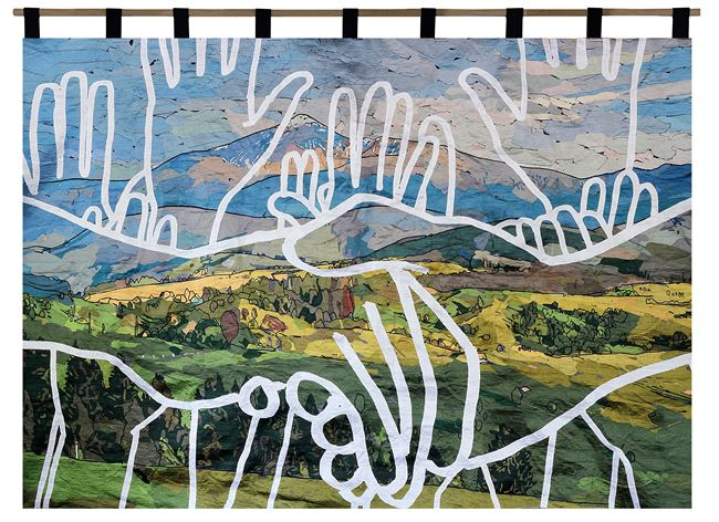 Boundless plains to share by Abdul Abdullah contemporary artwork