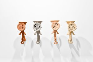 Corps d'Argile (4 pieces) by M'barek Bouhchichi contemporary artwork