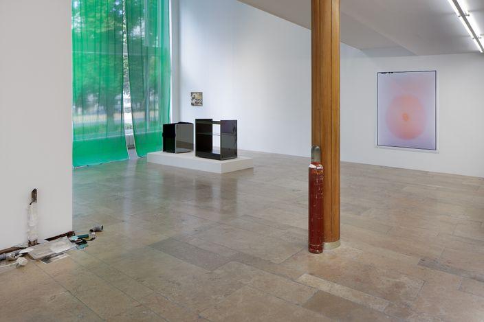 Exhibition view: Group Exhibition, The Displacement Effect, Capitain Petzel, Berlin (26 June–14 August 2021). Courtesy Capitain Petzel. Photo: Gunter Lepkowski.