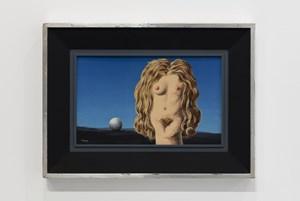 The Rape by René Magritte contemporary artwork