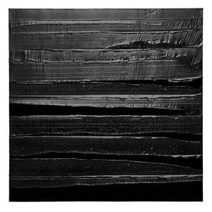 Peinture 130 x 130 cm, 10 octobre 2019 by Pierre Soulages contemporary artwork