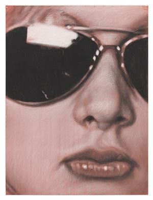 Ice Eyes Eis by Richard Phillips contemporary artwork