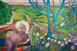 @Pleasure garden by Ndidi Emefiele contemporary artwork