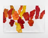3 Works: Body Oral Meaning by Koo Jeong A contemporary artwork works on paper