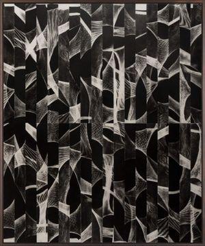 El vuelo de los pajaros – El canto de la noche (Phantogram) by Martin Soto Climent contemporary artwork