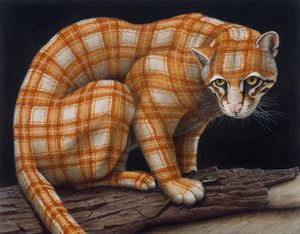Ocelot by Sean Landers contemporary artwork
