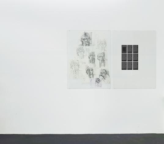 Exhibition view: Danica Barboza,Omnia - Mercurial, Interposition,Galerie Buchholz, Cologne (10 April–1 June 2019). Courtesy Galerie Buchholz.