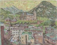 Cheongpung Valley 1 by Min Joung-Ki contemporary artwork painting