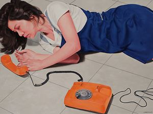 Telephone by Chong Ai Lei contemporary artwork
