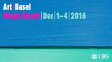 Contemporary art art fair, Art Basel Miami Beach 2016 at Ocula Advisory, London, United Kingdom