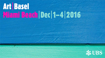 Contemporary art exhibition, Art Basel Miami Beach 2016 at Galerie Eva Presenhuber, Zurich