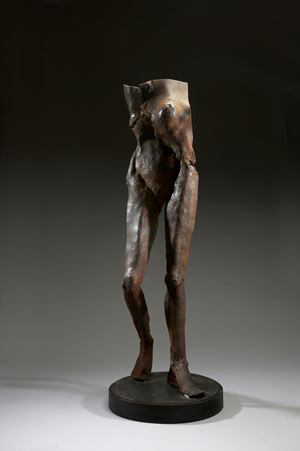Woman in Pose by Liang-Tsai Lin contemporary artwork
