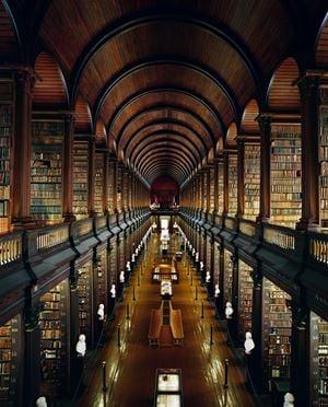 Trinity College Library, Dublin by Ahmet Ertug contemporary artwork