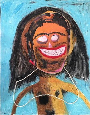 Self Portrait 1 by Ramesh mario nithiyendran contemporary artwork