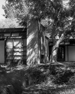 Rudolf Schindler, Schindler House, Los Angeles by Joachim Brohm contemporary artwork