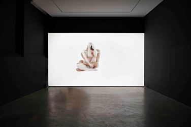 William Forsythe,Alignigung 2(2017). Exhibition view: William Forsythe,Choreographic Objects, Gagosian, Le Bourget (15 October–22 December 2017). © William Forsythe. Courtesy Gagosian.Photo: Thomas Lannes.