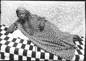 Untitled (Woman Lying Down) by Seydou Keïta contemporary artwork