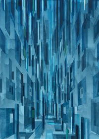 Licht by David Schnell contemporary artwork painting