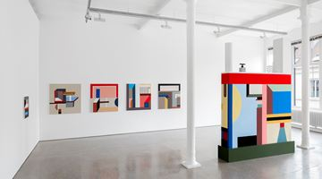 Contemporary art exhibition, Nathalie Du Pasquier, No turning here! at Galerie Greta Meert, Brussels