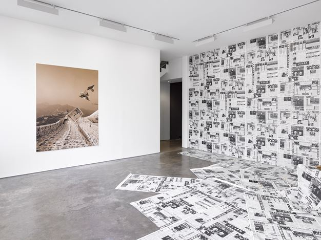 Exhibition view: Group Exhibition,Afterimage: Dandai Yishu, Lisson Gallery, Lisson Street, London (3 July–7 September). Courtesy Lisson Gallery.