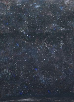 Vagabondando con le stelle by Natale Addamiano contemporary artwork