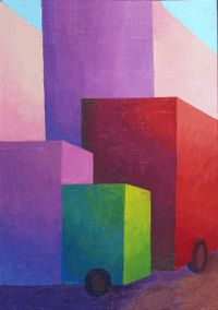 Truck by Salvo contemporary artwork painting