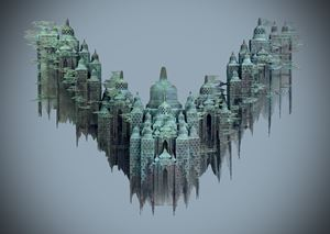 Borobudur IV by Nyoman Nuarta contemporary artwork