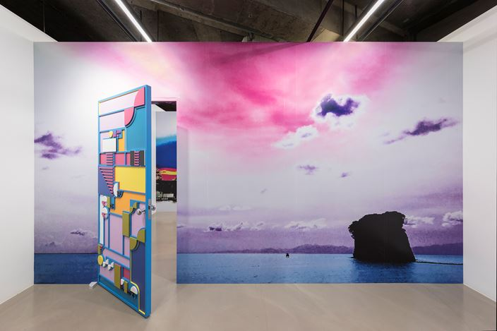 Installation view, Tobias Rehberger, 'Truths that would be maddening without love', Gallery Baton, Seoul, 2020. Courtesy of Gallery Baton. Photo: Lim Jang Hwal