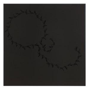 Lines on Black (Höller, Tiravanija, Rehberger) by Anri Sala contemporary artwork
