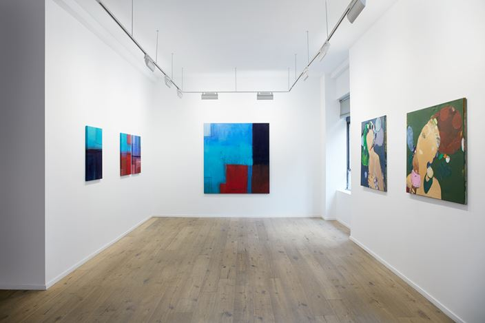Exhibition view: Group Exhibition, the woman who walks with me, Galeria Nara Roesler, New York (25 June–16 August 2019). Courtesy Galeria Nara Roesler.