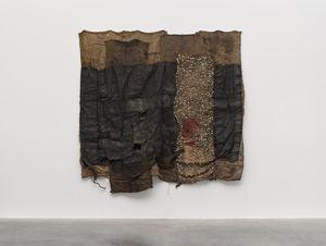 DAN MALGU by Ibrahim Mahama contemporary artwork sculpture, textile