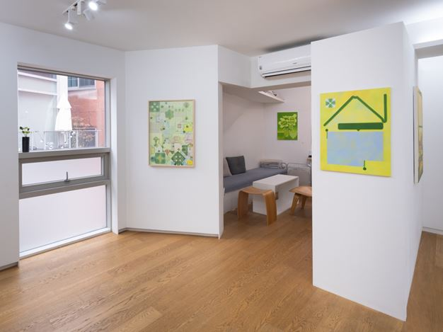 Exhibition view: Junghae Park,Mellow Melody, Whistle, Seoul (22 January–6 March 2021). Courtesy Whistle.
