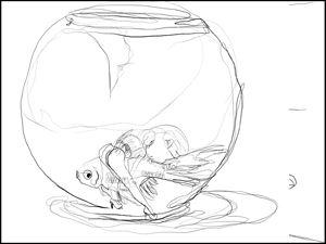 #Fishbowl by Matthew Attard contemporary artwork