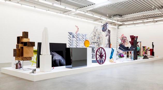 Almine Rech contemporary art gallery in Brussels, Belgium
