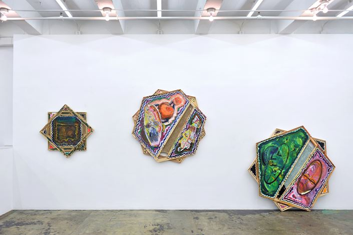 Exhibition view: Mike Cloud,Tears in abstraction,Thomas Erben Gallery, New York (12 September–9 November 2019). Courtesy Thomas Erben Gallery.