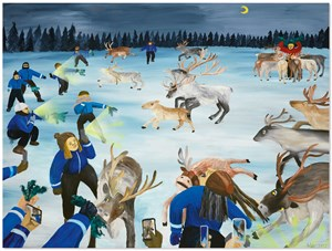 I've been to North Pole by Huang Hai-Hsin contemporary artwork
