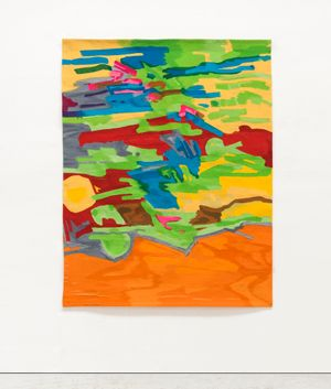 Marée Basse by Etel Adnan contemporary artwork