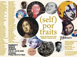 "Group Exhibition<br><em>(SELF) PORTRAITS</em><br><span class=""oc-gallery"">Parkett</span>"