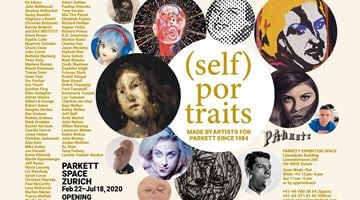 Contemporary art exhibition, Group Exhibition, (SELF) PORTRAITS at Parkett, Zurich
