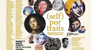 Contemporary art exhibition, Group Exhibition, (SELF) PORTRAITS at Parkett, Zurich Exhibition Space