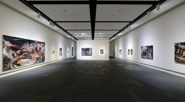 Contemporary art exhibition, Rao Fu, Infinitrace at Kuandu Museum of Fine Arts, gallery G102, Taipei