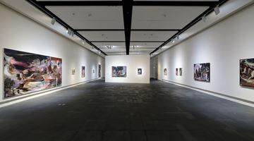 Contemporary art exhibition, Rao Fu, Infinitrace at Kuandu Museum of Fine Arts, gallery G102, Taipei, Taiwan