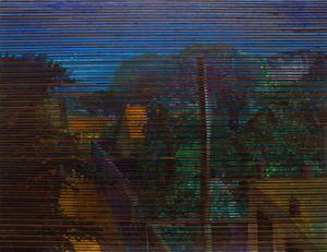 BLINDS: Landscape by Chandraguptha Thenuwara contemporary artwork
