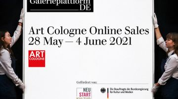 Contemporary art exhibition, Art Cologne Online at Galerie Thomas Schulte, Berlin