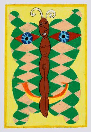 Untitled (moth) #36 by Brendan Huntley contemporary artwork