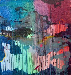 Wall-Map by Michael Taylor contemporary artwork