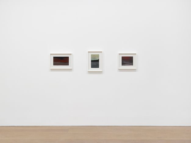 Exhibition view: Frank Walter, David Zwirner, London (15 April–22 May 2021). Courtesy David Zwirner.